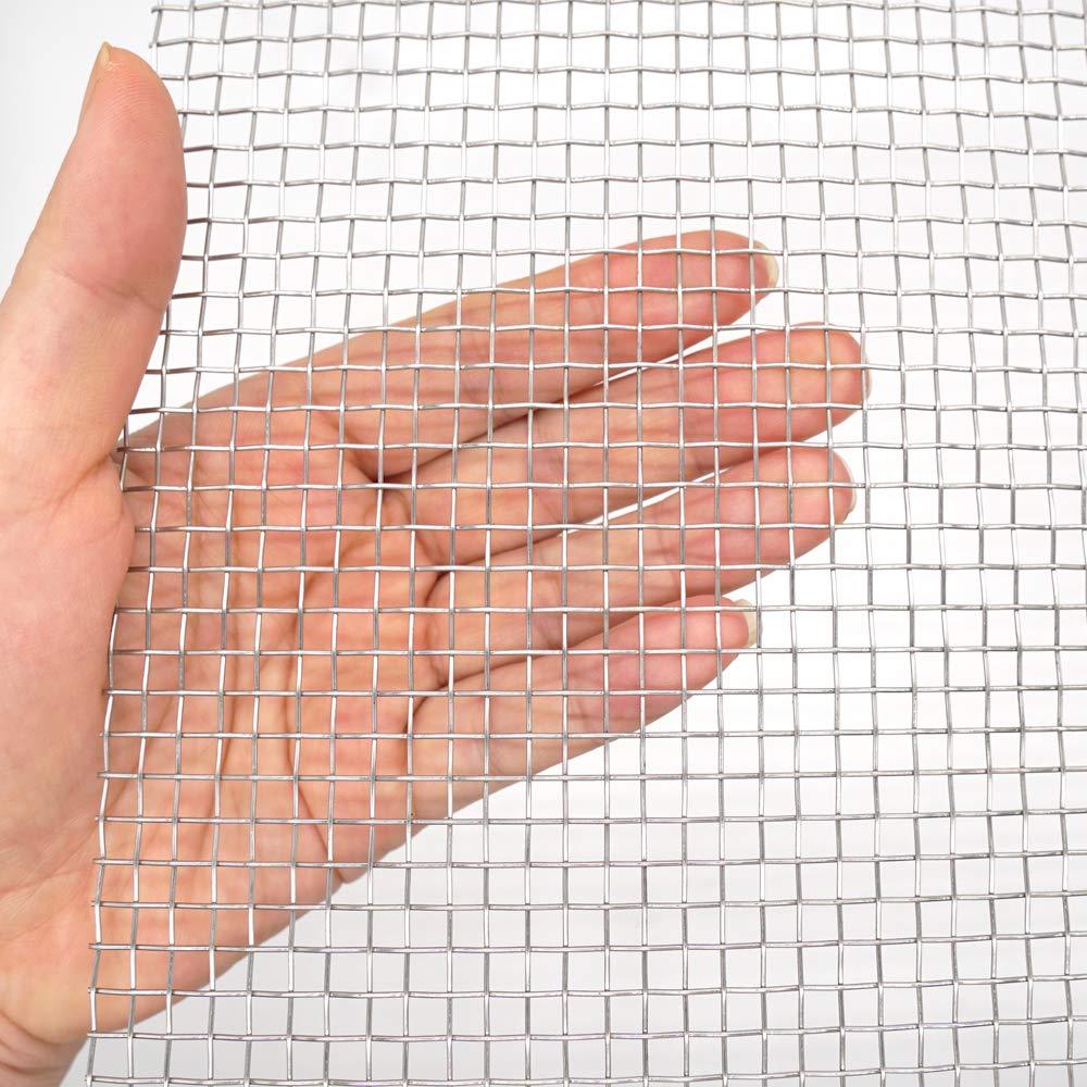 BAISDY 5 Mesh 304L Stainless Steel Wire Mesh, 30cm x 60cm by BAISDY
