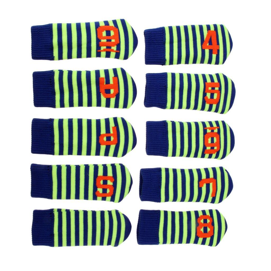 激安大特価! dolity 10ピースニットゴルフアイアンヘッドカバーヘッドカバーセットwith No Green。(4 – 9 Golfer Pas) for右と左Hander B07DH6QGZY Golfer 11.2 x 4.7cm 11.2 x 4.7cm Fluo Green B07DH6QGZY, なの花ドラッグ:6d420932 --- a0267596.xsph.ru