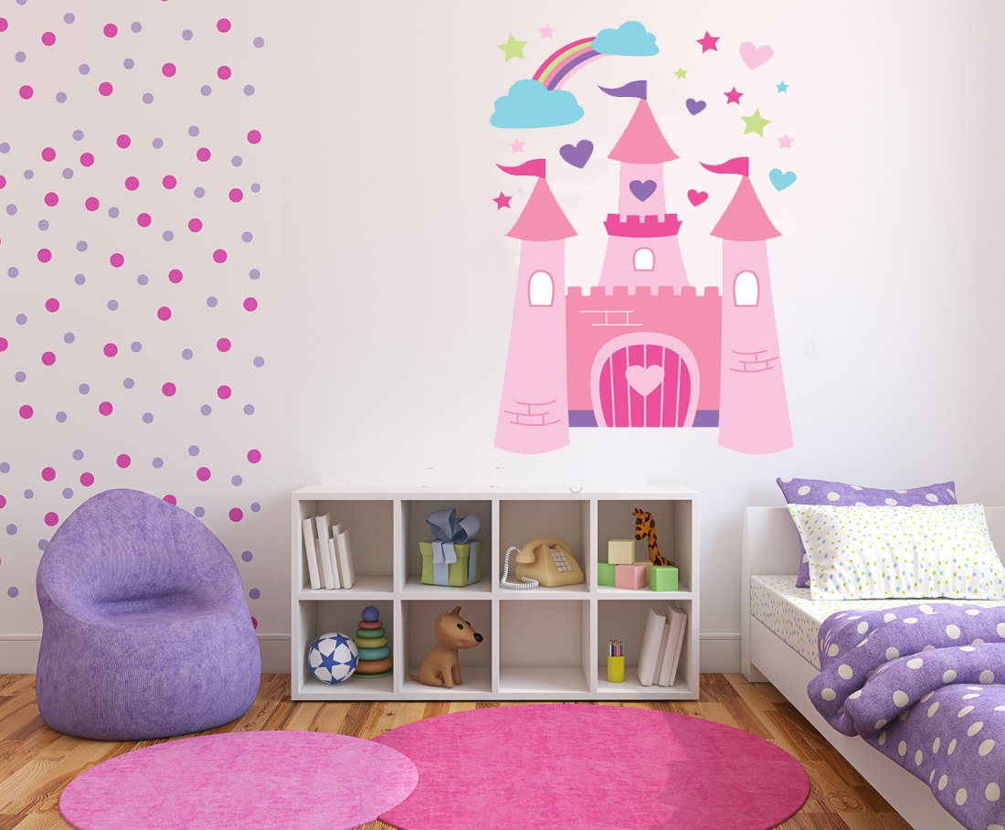Ben and holly wall stickers image collections home wall princess castle wall stickers art decal vinyl girls bedroom princess castle wall stickers art decal vinyl amipublicfo Images