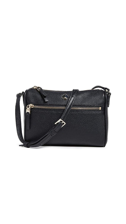 9393d3e5b2f55 Amazon.com: Kate Spade New York Women's Polly Small Crossbody Bag, Black,  One Size: Shoes