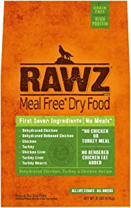 Rawz Meal Free Dry Dog Food (Turkey & Chicken, 10 lb.)