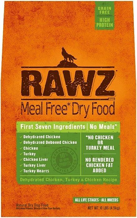 Rawz Meal Free Dry Dog Food (Turkey & Chicken, 10 lb.)