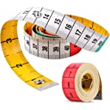 Measuring Tape, Tape Measure with Snap Closure, Tape Measure for Body, Double Scale Measurement Tape for Sewing Measuring Tap