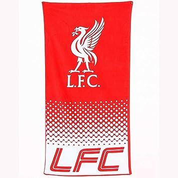 Los niños Liverpool Fade Club de fútbol niños playa baño toalla extra grande estampado: Amazon.es: Hogar