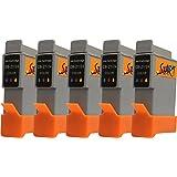 Start - 5 Ersatz Patronen kompatibel zu BCI-21 / BCI-24, Colour für Canon Pixma iP1000, iP1500, iP2000, MP110, MP130, MP390, i250, i255, i320, i350, i355, i450, i455, i470D, i475D, Smartbase MP360, MP370, MP375R, MP390, MPC190, MPC200, Pixus 320i, 455i, 475PD, MP10, MP360, MP370, MP375R, MP390, MP5, imageClass MPC190, MPC200, S200, S210, S300, S330, S330 Photo, Multipass F20, MP360, MP370