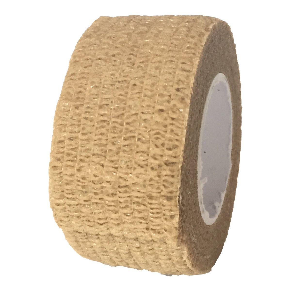 Steroplast Bandage cohé sif, 2.5 centimetre X 4.5 metre, brun clair 2.5centimetre X 4.5metre