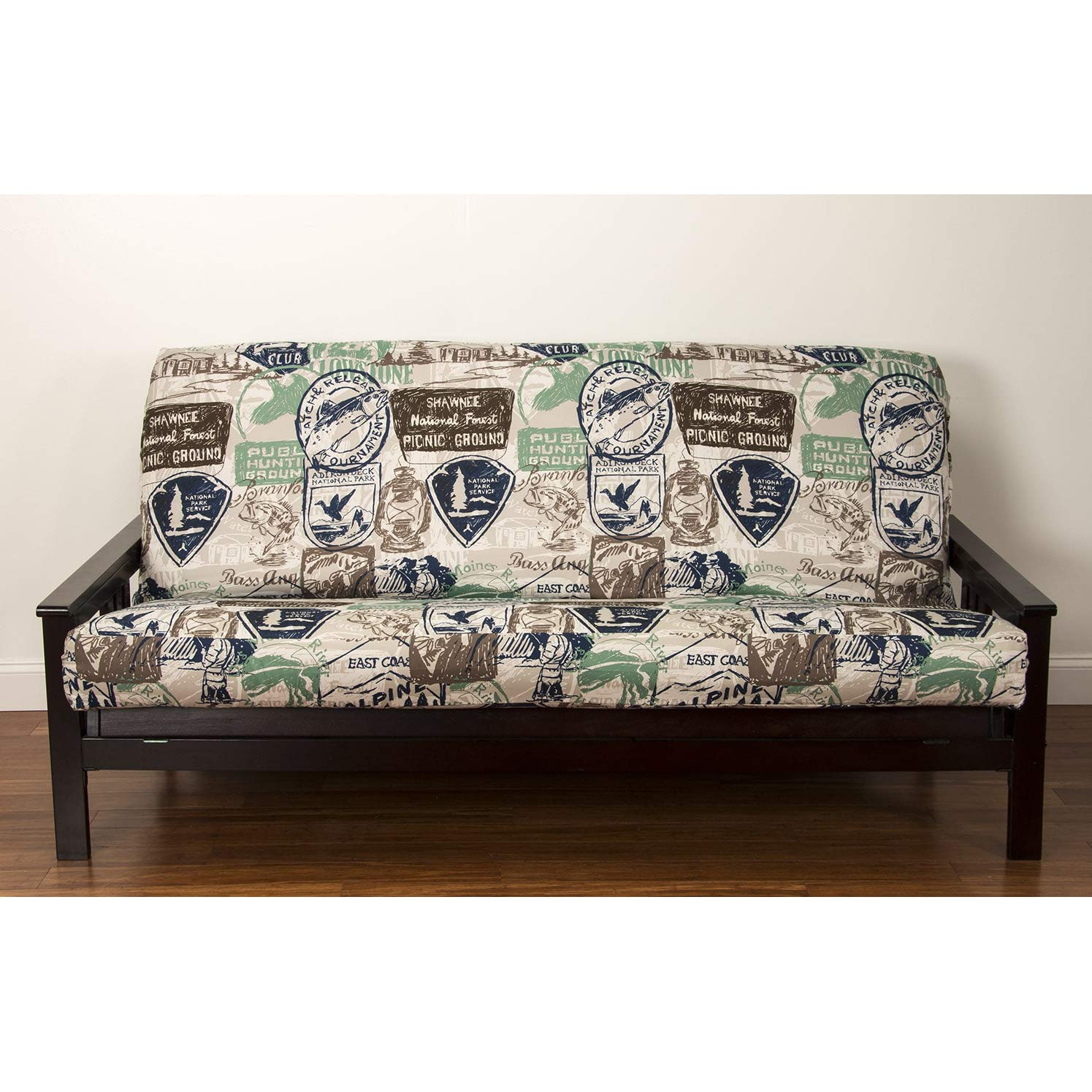 SIScovers Parks and Rec Futon Cover Beige Full