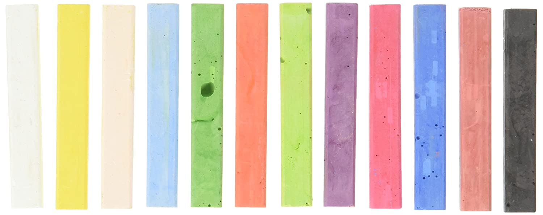Pro Art PRO-3021 Chalk Charcoal, 12 Stick Per package