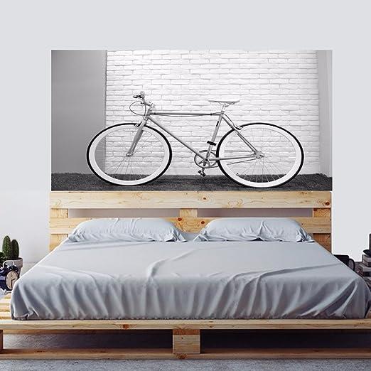 Weaeo La Vida Es como Montar En Bicicleta Bicicleta Cabecero De ...