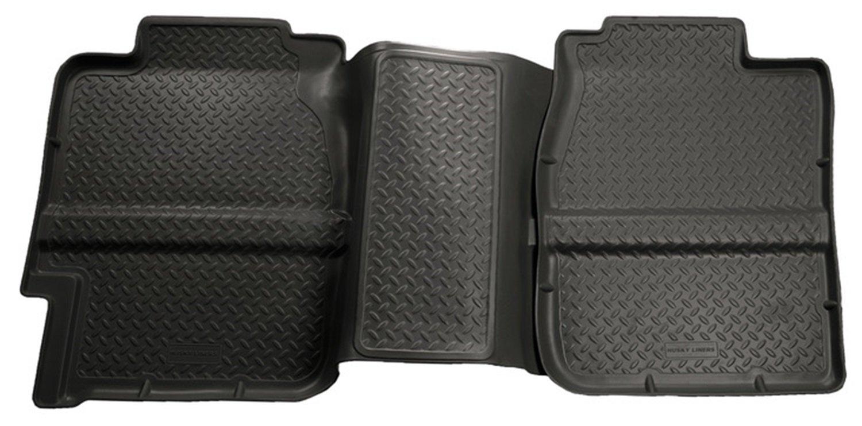 Floor mats silverado - Amazon Com Husky Liners 2nd Seat Floor Liner Fits 99 07 Silverado Sierra 1500 Extended Cab Automotive