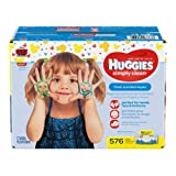 Amazon Price History for:HUGGIES Simply Clean Fresh Scented Baby Wipes Soft Pack, 576 Count