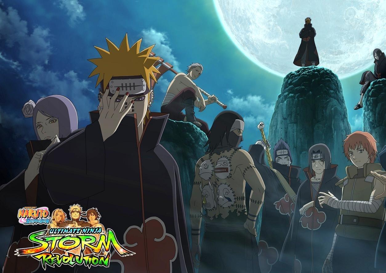Naruto Shippuden: Ultimate Ninja Storm Revolution Poster ...