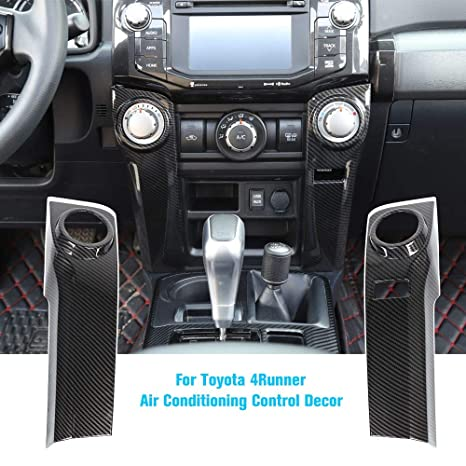 2016 Toyota 4Runner Accessories >> Jecar 4runner Air Conditioning Switch Panel Cover 4runner Accessory Decoration Trim Frame Abs For Toyota 4runner 2010 2011 2012 2013 2014 2015 2016