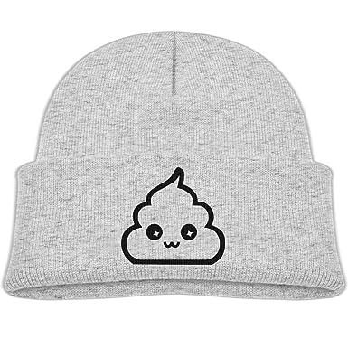 Amazon.com: hanfjj kefdk sombrero de punto Kawaii Poop bebé ...