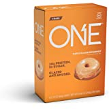 ONE Protein Bars, Maple Glazed Doughnut, Gluten-Free Protein Bar with 20g Protein and only 1g Sugar, Snacking for High Protei