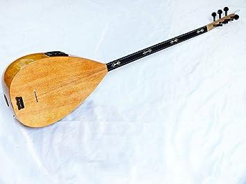 Griego vinculante arce louta Lavta instrumento de cuerda nueva.