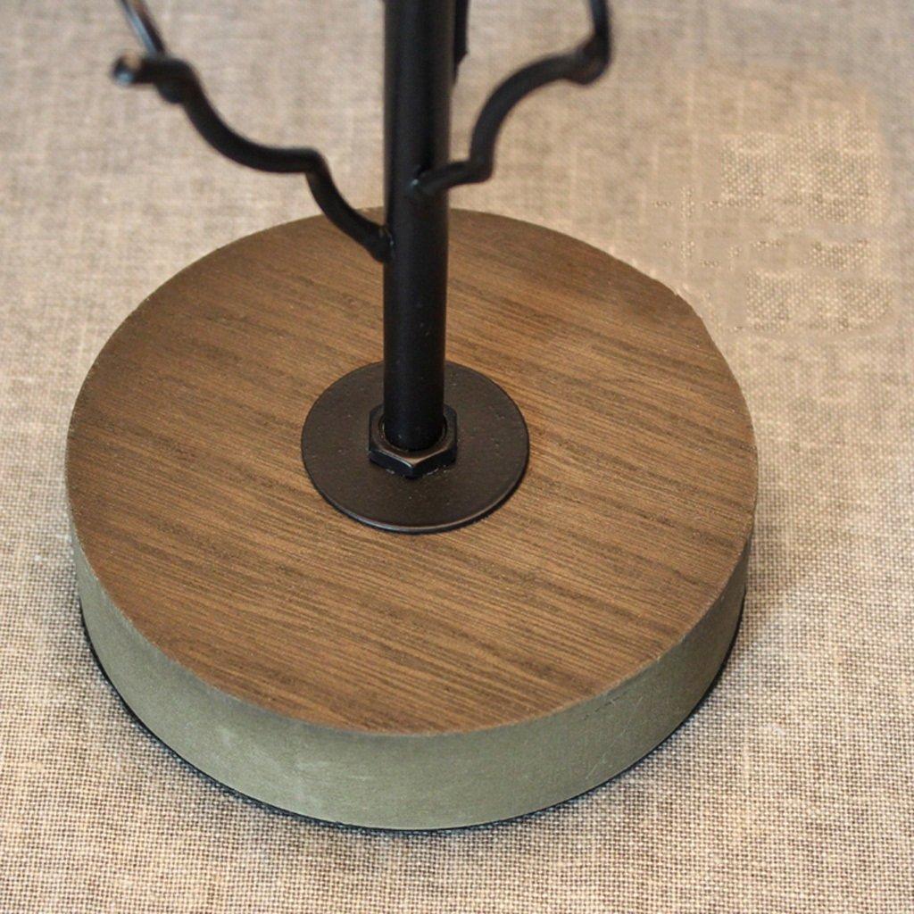 Lily Escritorio Moderna lámpara de Escritorio Lily de la Tabla de la Escultura Todas Las Salas de Estar y dormitorios, Cable Largo con el Interruptor de la línea E27 (Color : Blanco) 890983