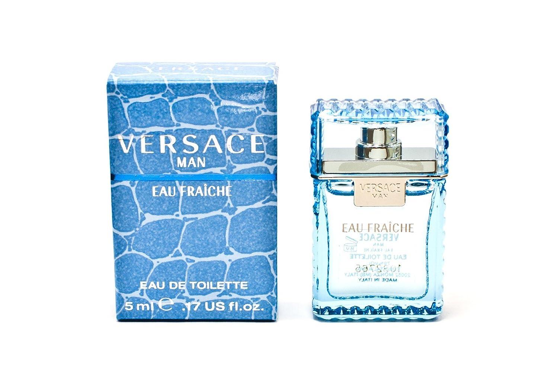 Man Eau Fraiche by Versace, 0.17 Ounce VER500062