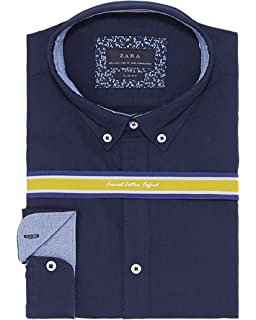 1695d60f Zara Men's Contrasting Biker Jacket 8178/305 Brown: Amazon.co.uk ...