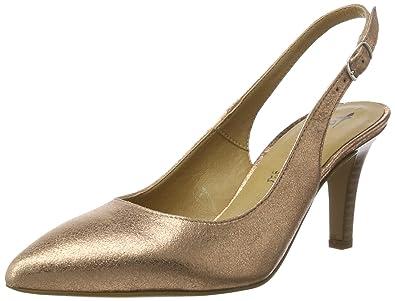 c70c3daef0b7 Tamaris Damen 29614 Slingback, Gold (Rose Metallic 952), 35 EU
