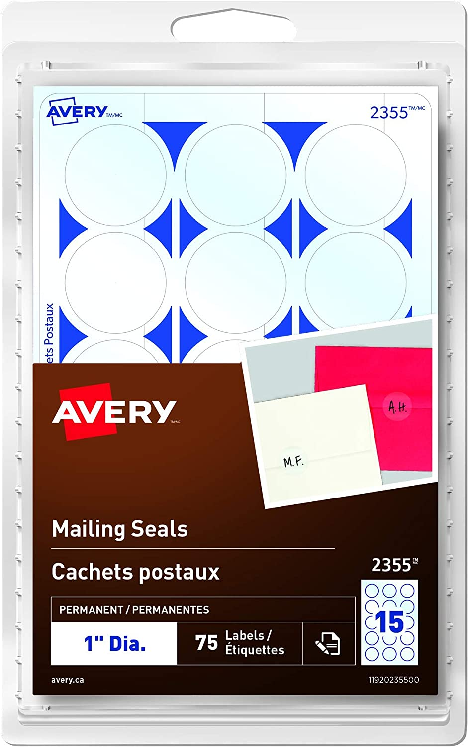 Avery Clear Mailing Seals For Envelopes Wedding Invitations