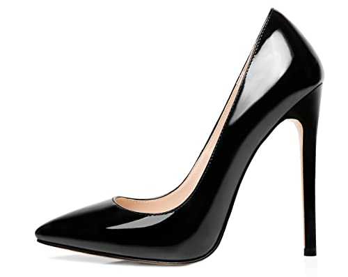 6770d1a1abd Nansay Women's Shoes Sky High Heels Pointed Toe Stiletto Pumps for Party  Wedding