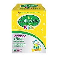 Culturelle Kids Regularity Probiotic & Fiber Dietary Supplement - Helps Restore...