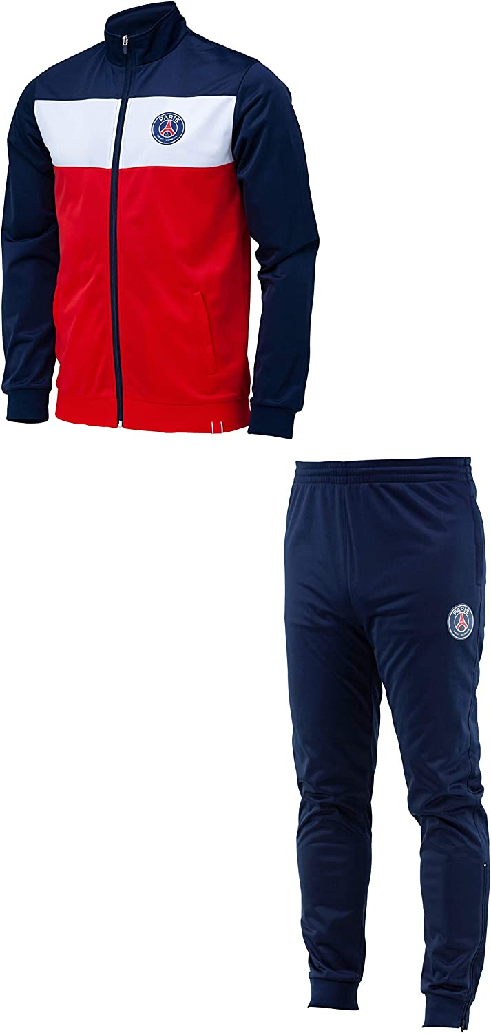 Collection Officielle Taille Enfant gar/çon PARIS SAINT-GERMAIN Doudoune sans Manche PSG