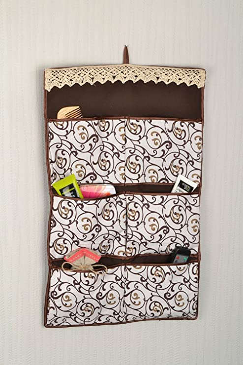 Amazon Com Cotton Fabric Handmade Wall Organizer For Little Things
