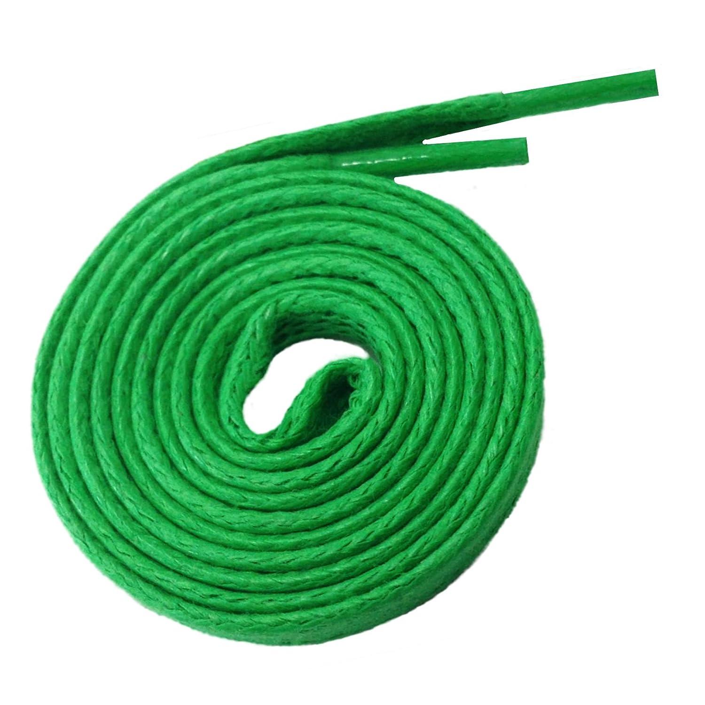 1 Paar McLaces gewachste flache Schnürsenkel (Baumwolle) ca. 5 mm