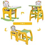 3 in 1 Baby High Chair Convertible Play Table