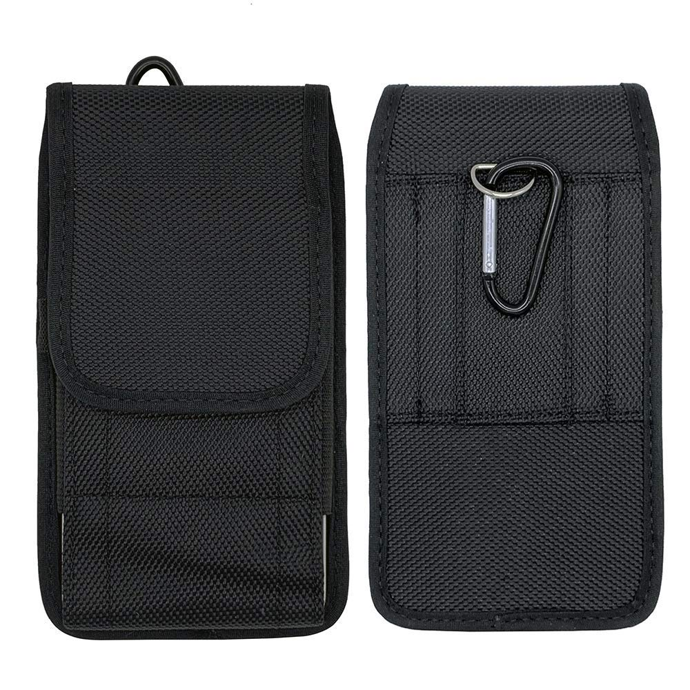 P30 Lite Y7 Prime Honor 20 8S V20 Smartphone Carcasa Vertical//Horizontal Nylon Bolsa de la Cintura Cover Negro Nova 4 2019 Funda Universal con Clip de Cintur/ón para Huawei Mate 20 P Smart