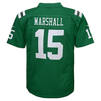 c13e6cd59 Nike NFL New York Jets Brandon Marshall Youth Football Color Rush Game  Jersey (Medium)