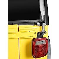 Hooke Road Auto CB Antenna Mount Bracket for 1997-2006 Jeep Wrangler TJ