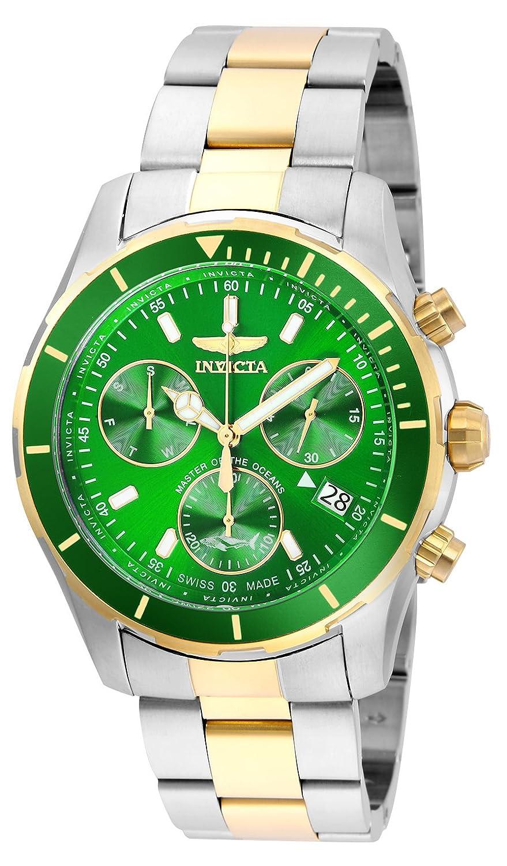 Invicta Men 's ' Pro Diver ' QuartzステンレススチールCasual Watch, Color Two Tone (Model : 26059 ) B07DD6HR8X