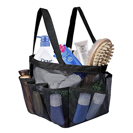 Amazon.com: Shower Caddy Tote Bag, Portable Dorm Shower Caddy Bag ...