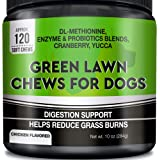 GOODGROWLIES Grass Saver for Dogs - Dog Pee Lawn Repair Treats - Grass Burn Spots Caused by Dog Urine - Grass Saver…