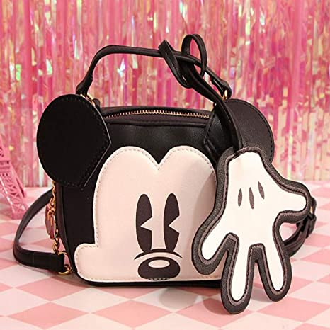 Jewh Hot Cute Mickey Mouse Toy Backpack Kawaii Animals Bag Handbags Bagpack Purse for Girls Children
