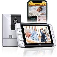 Vigilabebés Kodak Cherish C525 Wi-Fi con Cámara, Permite la Visión Completa de la Habitación, Unidad para Padres que…