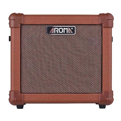 Muslady AROMA AG-10A Amplificador de guitarra acústica portátil ...
