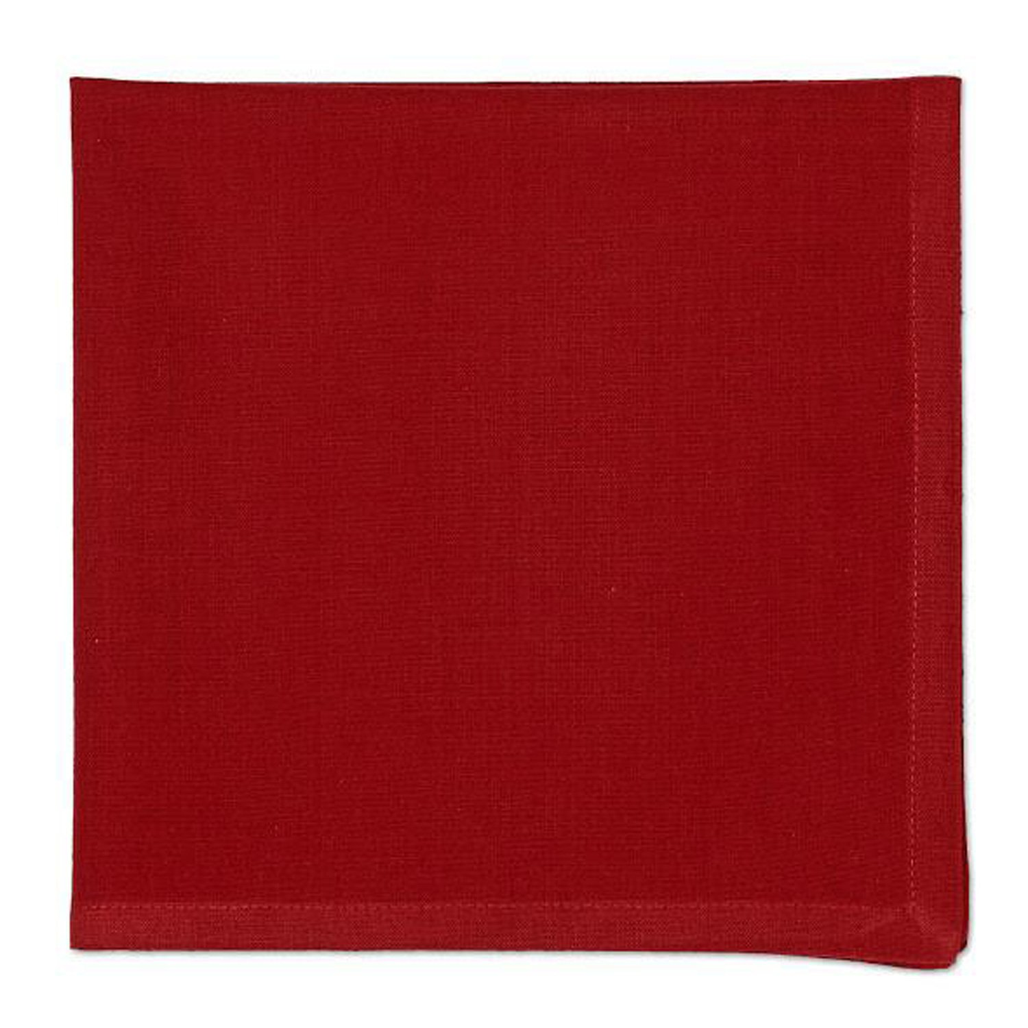 Design Imports A Walk in the Woods Table Linens, 20-Inch by 20-Inch Napkins, Set of 4, Garnet