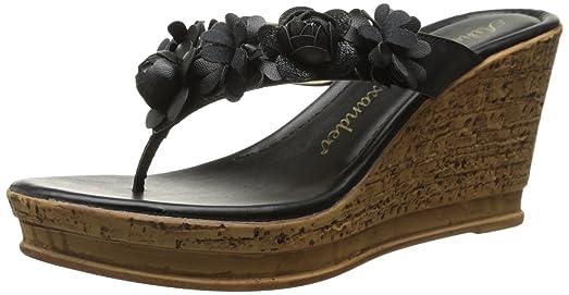 Athena Alexander Women's Fawn Dress Sandal, Black, ...