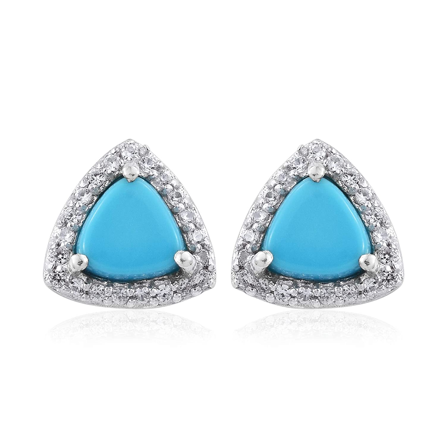 aa2b631cb QUALITY CRAFTSMANSHIP: Made using rhodium-plated-silver these Earrings are  built to last! The secure post-with-friction-back back findings make sure  these ...