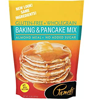 Pamelas Products Gluten Free Baking and Pancake Mix, 64 Ounce