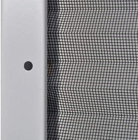 60x80cm UnfadeMemory Mosquitera para Ventana,Plisada para Ventanas,Cortina de Ventana para Prevenir Insectos,Mosquitos,Moscas,Avispas,Abejas,Marco de Aluminio