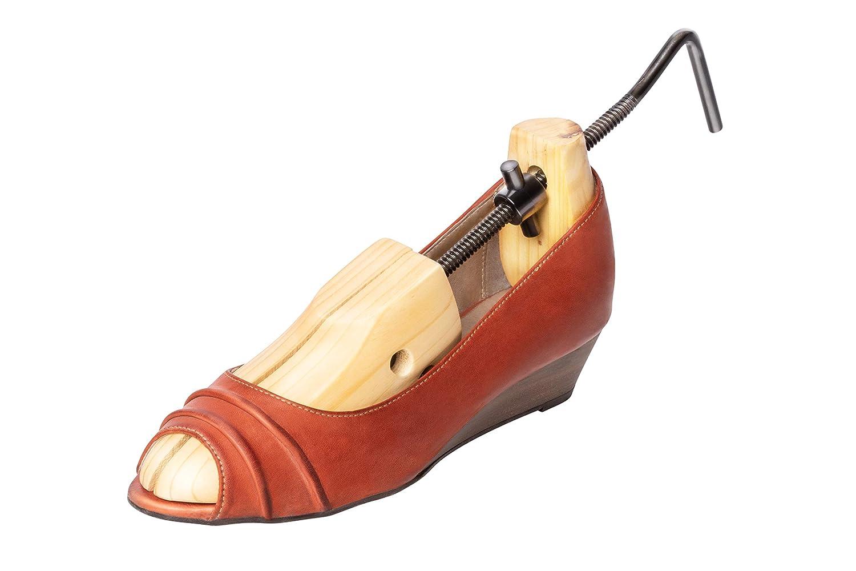 32//UK 0.5 bis 43//UK 8.5 en longueur et largeur r/églables individuellement Schuhgr UPP /Écarteur /à chaussures pour femmes et hommes 1 pi/èce de tendeur en pin marron marron Frauen /& Kinder