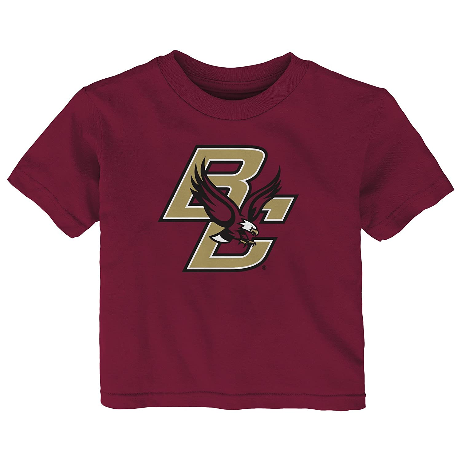Outerstuff NCAA Boston College Eagles Infant Primary Logo Short Sleeve Tee Garnet 12 Months