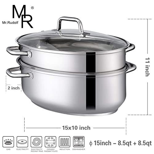 Mr. Rudolf Chef's Classic Roasting/Steaming Pan Set