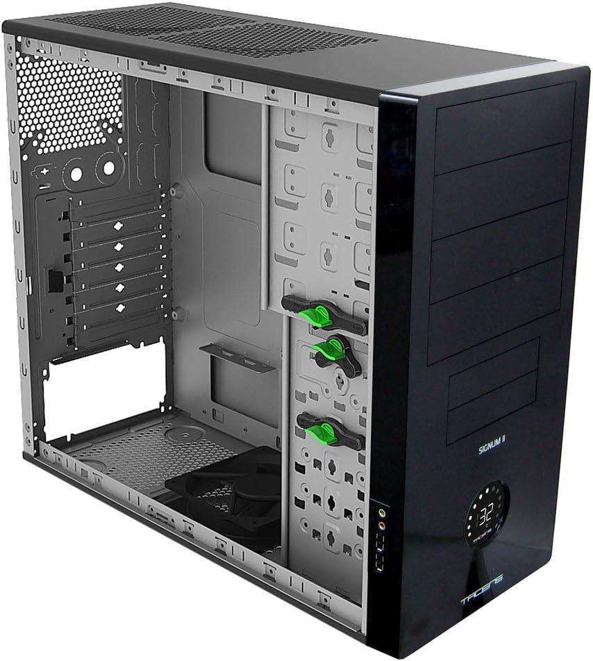 Tacens Signum II - Caja Semitorre con Extrema ventilacion, Control LCD: Amazon.es: Informática