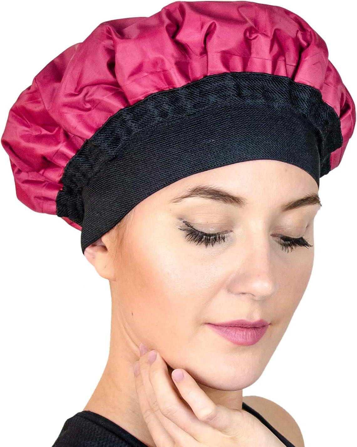 Magic Gel - Gorro térmico para el cabello:corro de vapor para acondicionamiento profundo para tratamiento térmico (microondas)